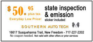State Inspection & emission